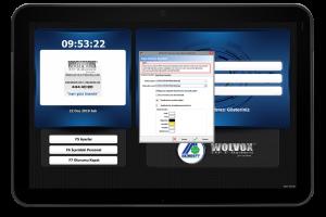 Akınsoft WOLVOX Kapı Ekranı